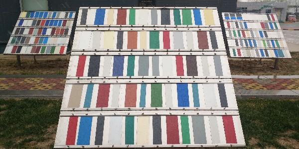 暴晒实验:欧格曼涂料推荐一种简单又有效的涂层耐老化的检测方法