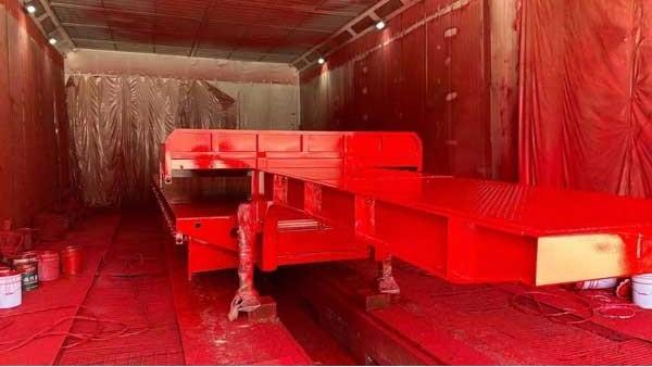 欧格曼AC-100醇酸解放红体系面漆-助力挂车市场