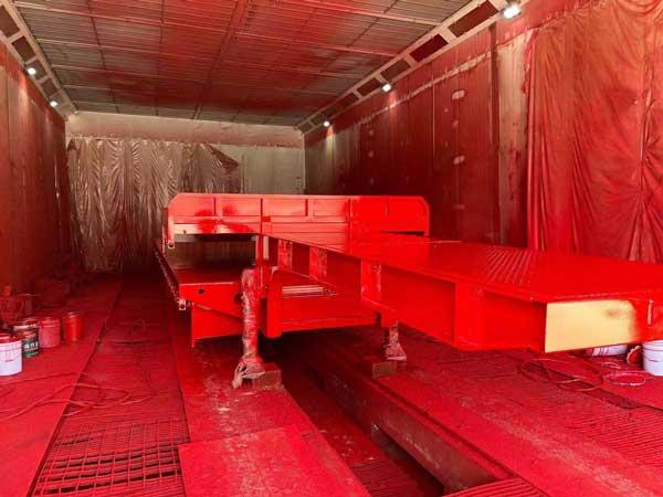 欧格曼AC-100醇酸解放红面漆-山东挂车漆涂料厂家