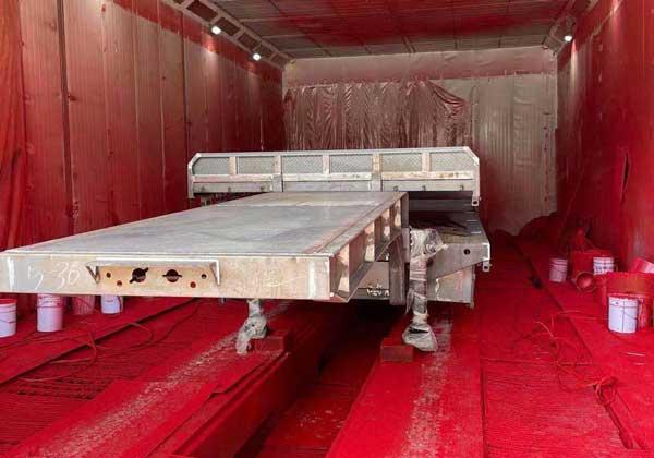欧格曼AC-100醇酸解放红体系面漆-山东挂车涂料厂家